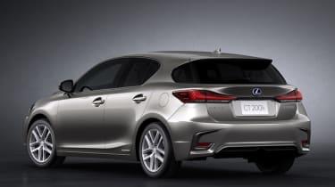 2018 Lexus CT facelift rear quarter