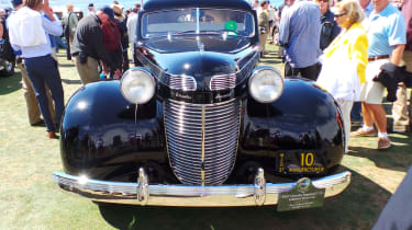 1937 Chrysler Imperial C-15 Le Baron Town Car