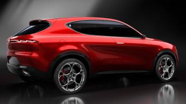 Alfa Romeo Tonale - rear