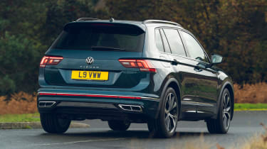 Volkswagen Tiguan 2021 petrol - rear cornering