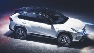 New Toyota RAV4 - front