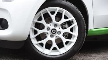 Smart ForFour ED - wheel