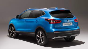 New Nissan Qashqai facelift - rear static