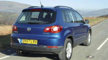 VW rear