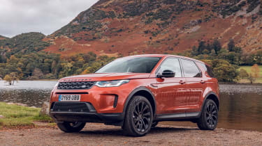 Land Rover Discovery Sport static front