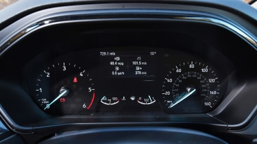 Ford Focus Estate - dials
