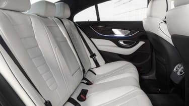 Mercedes CLS - rear seats