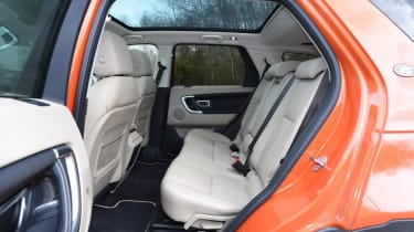 Used Land Rover Discovery Sport - rear seats