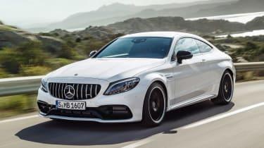 Mercedes-AMG C 63 S - front