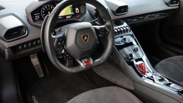 Lamborghini Huracan LP580-2 - interior