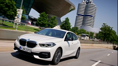 BMW 1 Series 2019 front