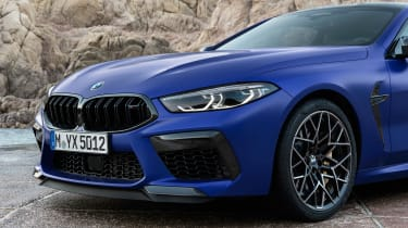 BMW M8 Competition - grille