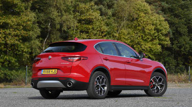 Alfa Romeo Stelvio - rear static