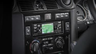 Jaguar Land Rover classic infotainment off road