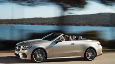 Mercedes E-Class Cabriolet 2017 - AMG Line side tracking