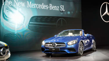 New Mercedes SL Roadster 2015 LA Show 1