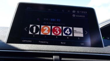 Peugeot 5008 - DAB radio