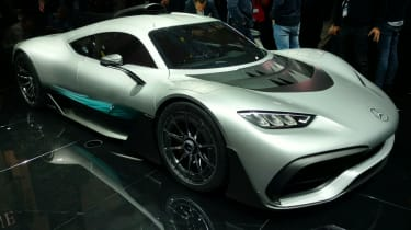 Mercedes-AMG Project One Frankfurt - side