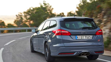 Ford Focus ST Estate 2015 rear