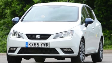 SEAT Ibiza long-term - front cornering