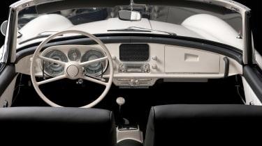 Elvis Presley BMW 507 - interior
