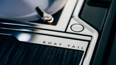 Rolls-Royce Boat Tail - interior detail