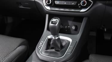 Hyundai i30 - centre console