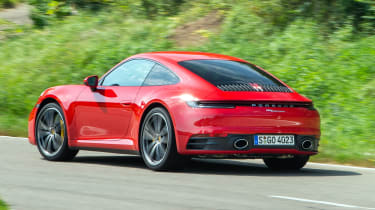 Porsche 911 Carrera - cornering rear