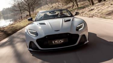 Aston Martin DBS Superleggera Volante - full front