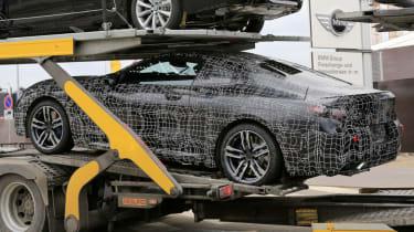 BMW 8 Series - spy shot transport rear