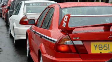 Mitsubishi's 100th year celebration - Lancer Evolutions line up