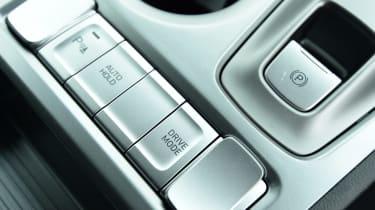 Hyundai Kona Electric - interior detail