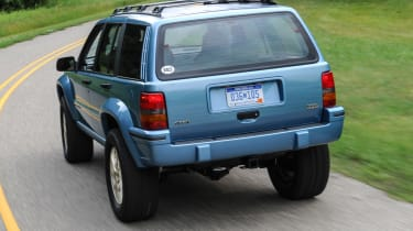 Jeep's wildest concepts driven - Grand One rear