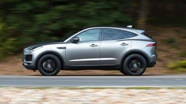 Jaguar E-Pace review - side