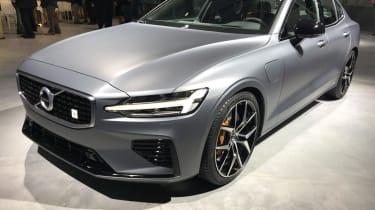 New Volvo S60 front quarter