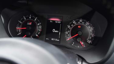 Toyota Yaris GRMN - dials