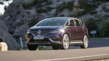 Renault Espace - cornering