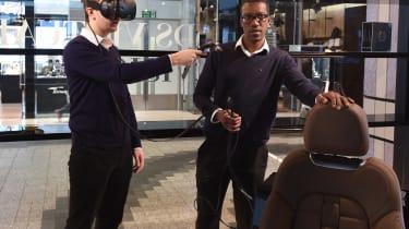 DS Westfield store - Joe Finnerty virtual reality
