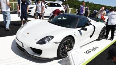Porsche 918 Spyder Goodwood