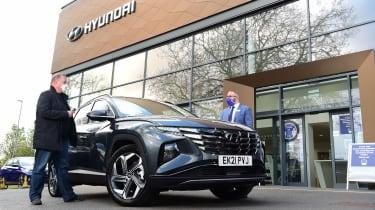 Hyundai Tucson Ultimate Hybrid - first report header