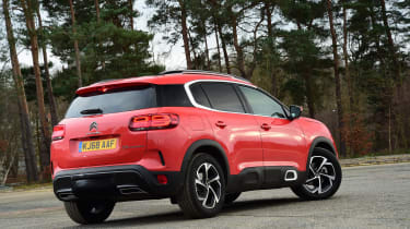 Citroen C5 Aircross - rear static