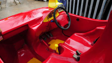 Cosy Coupe replica interior