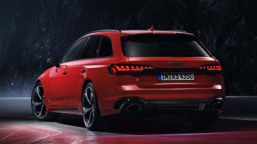 Audi RS 4 Avant - studio rear