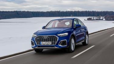 Audi Q5 Sportback - front action