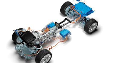 Range Rover PHEV - electric drivetrain