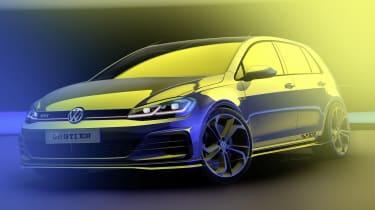 Volkswagen Golf GTI TCR - front sketch