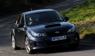 Subaru WRX STi front