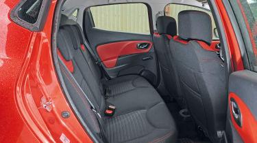 Renault Clio rear seats