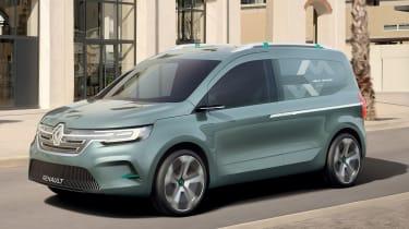 Renault Kangoo ZE Concept - front tracking