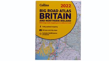 Collins Big Road Atlas Britain 2022 - cover